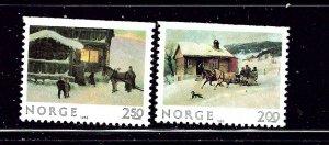 Norway 831-32 MNH 1983 Christmas