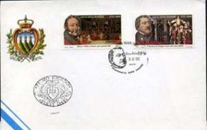 SAN MARINO 1992 - FDC - 1247-8 Composer G.Rossini(WD228)