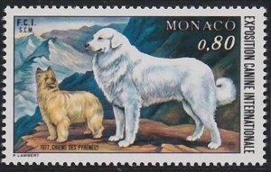 Monaco 1059 MNH (1977)