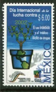 MEXICO 2285, INTERNATIONAL DAY AGAINST ILLEGAL DRUGS. MINT, NH. VF.