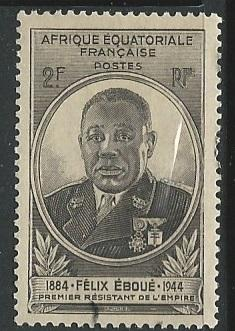 French Equatorial Africa  + Scott # 156 - MH