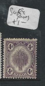 MALAYA KEDAH   (P1605B)  LEAF  4C  SG 54  MOG