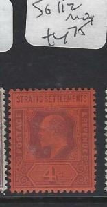 MALAYA STRAITS SETTLEMENTS (P0202B)  KE  4C  SG 112   MOG
