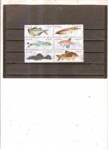 Aquarium fishes Brasil 1987y