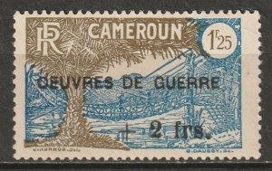 Cameroun 1940 Sc B7 Yt 233 MNH** toning