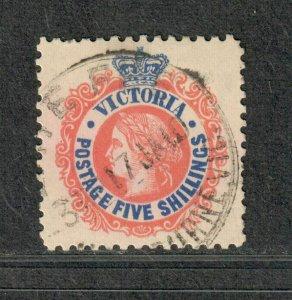 Victoria Sc#229 Used/VF, Cv. $26