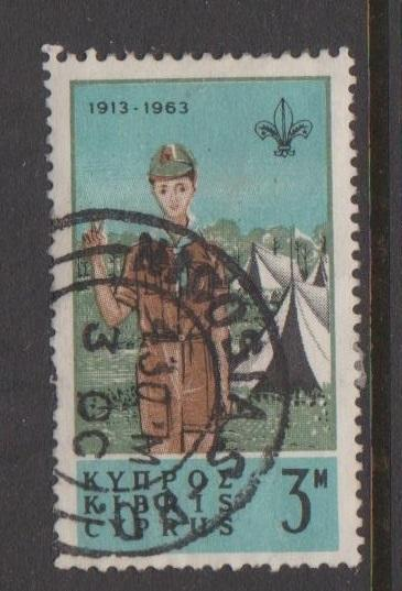 Cyprus Sc#224 Used