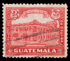 GUATEMALA STAMP 1943 SCOTT # 307. USED. # 4