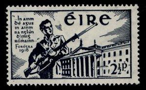 IRELAND GVI SG128, 2½d blue-black, M MINT.
