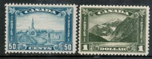 Canada #176 - #177 Mint Fine - Very Fine Never Hinged Duo