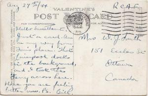 Canada Soldier's Free Mail 1944 Canadian Overseas S.C.2. P.D. Canadian Overse...