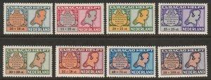 Netherlands Antilles 1946 Sc CB29-36 air post set MLH*