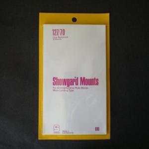 Mounts Showgard, 127/70mm (10ea Clear) (00540C)