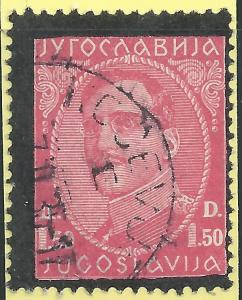 Yugoslavia #106 1.50d King Alexander