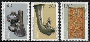 Armenia #496-8 MNH Set - Cultural Artifacts