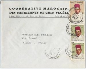 59294 -    MOROCCO - POSTAL HISTORY: COVER to ITALY - 1974