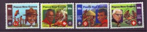 J21911 Jlstamps 1982 png set mnh #554-7 boy scouts