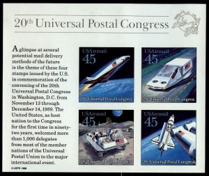 #c126 45c Future Mail Delivery S/S - XF og NH - w/FREE SHIPPING