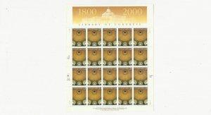 US Stamps/Postage/Sheets Sc #3390 Library of Congress MNH F-VF OG FV 6.60