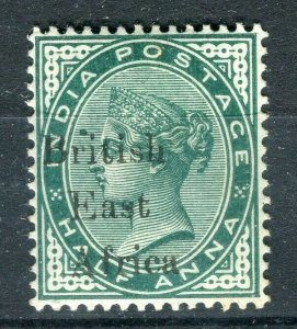 BRITISH KUT; 1900s early QV India EAST AFRICA Optd. Mint hinged 1/2a. value