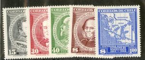 CHILE 237-237 MH SCV $3.10 BIN $1.25 PEOPLE