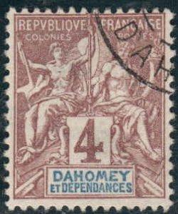 Dahomey  #3  Used CV $2.40