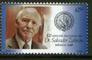 MEXICO 2071, Dr. Salvador Zubiran, Birth Centennial. MINT, NH. VF. (69)