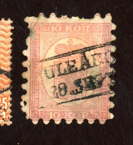 FINLAND #5 USED FINE PULLED PERF PAPER HR Cat $58