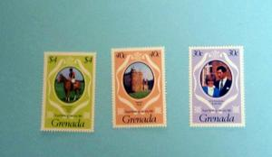 Grenada - 1051-53, MNH Set. Royal Wedding. SCV - $0.95