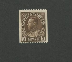 Canada 1921 King George V Admiral Issue 2c Stamp #134 CV $15