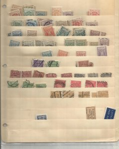 POLAND COLLECTION ON STOCK SHEETS, MINT/USED