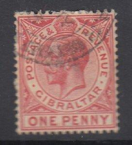 GIBRALTAR, Scott 77, used