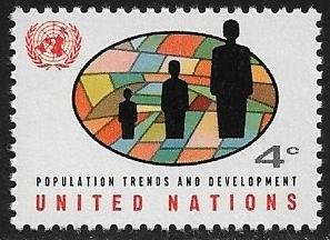 United Nations UN New York Scott # 151 Mint NH. Free shipping with another item.