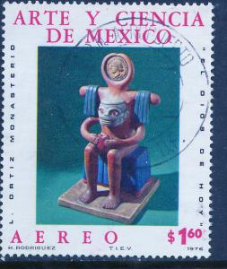 MEXICO C530, Art and Science (Series 6) USED. F-VF. (669)