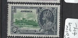 JAMAICA  (PP2903B)     KGV SILVER JUBILEE  SG 116   MOG