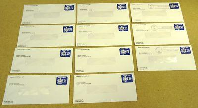 U075 22c U.S. Postage Envelopes Offical Business qty 11