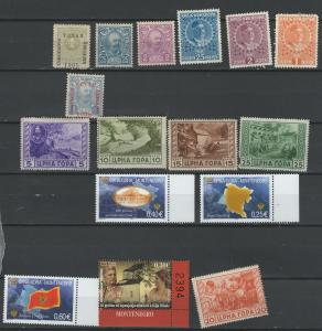 Montenegro stamp collection