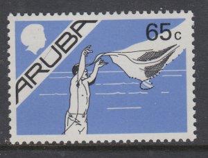 Aruba 10 MNH VF