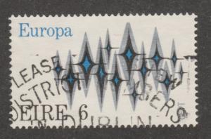 Ireland, Scott# 317,  used, Europa, Sparkles, symbolic of communication,  #m031