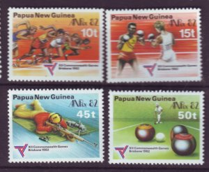 J21910 Jlstamps 1982 png set mnh #571-4 sports