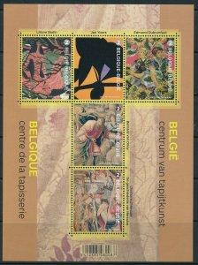 [I500064] Belgium 2015 Art Painting good sheet very fine MNH