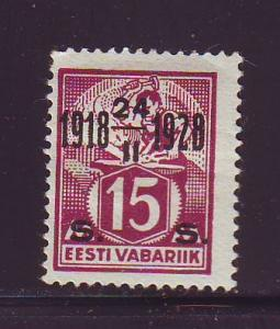 Estonia Sc 87 1928 15 s 10 yrs Independence stamp