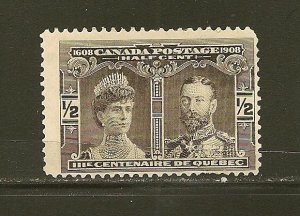 Canada 96 Quebec Centenary Mint Hinged