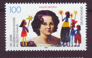 J11045 JL Stamps 1996 mnh germany set of 1 missionary