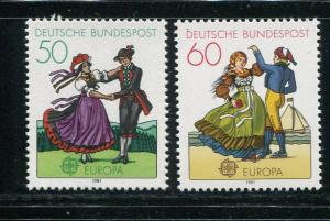Germany #1349-50 MNH - Make Me An Offer
