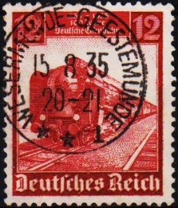 Germany.. 1935 12pf S.G.578 Fine Used
