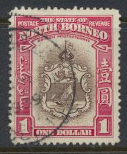 North Borneo  SG 315 SC# 205 Used / FU    - See scan