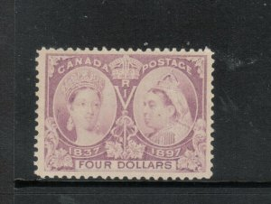 Canada #64 Very Fine+ Mint Very Lightly Hinged **With Certificate**