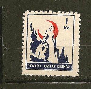 Turkey RA123 Postal Tax MNH