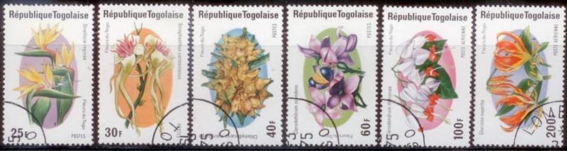 Togo 1975 SC# 894-7,C242-3 CTO L282-3